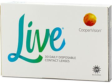 Live 30er Box von Cooper Vision