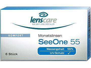 SeeOne 55 Monatslinsen 6er Box von Lenscare
