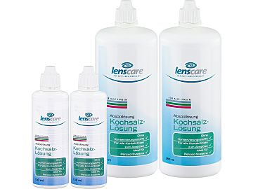 Kochsalz-Lösung 2er Set von Lenscare