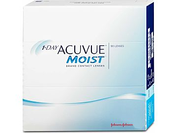 1-Day ACUVUE MOIST 90er Box, BC 9,0 von Johnson & Johnson