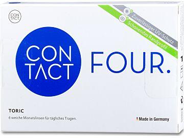 Contact four toric 6er Box, BC 8,8 von Wöhlk