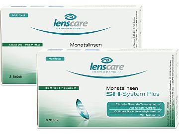Lenscare SH-System Plus Monatslinsen multifocal