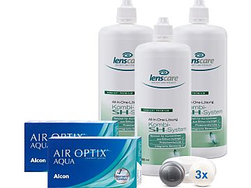AIR OPTIX AQUA Kombi-SH-System 3er Set von Alcon