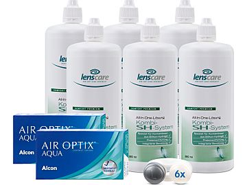 AIR OPTIX AQUA Kombi-SH-System 6er Set von Alcon