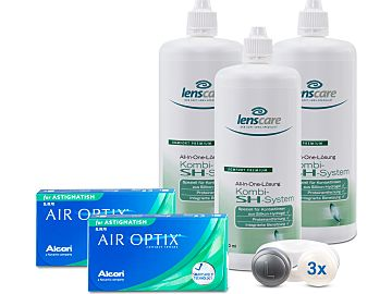 AIR OPTIX ASTIGMATISM Kombi-SH-System Set von Alcon