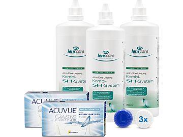 ACUVUE OASYS for Astigmatism 2-Wochenlinsen Kombi-SH-System 3er Set von Johnson & Johnson