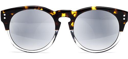 Lian 5019 demi-braun/transparent von Lennox Eyewear