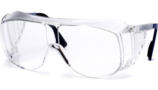 Überbrille 9161.005 blau/schwarz von Uvex Arbeitsschutz