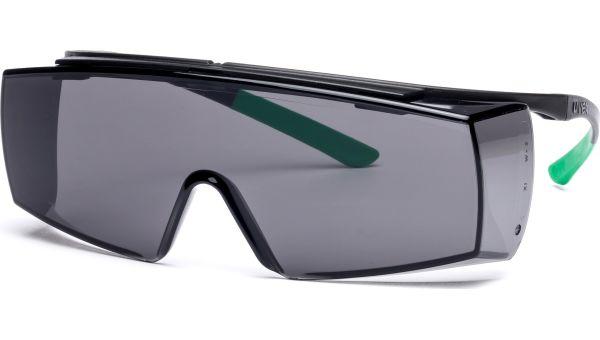 Überbrille super f OTG 9169.543 schwarz/grün von Uvex Arbeitsschutz