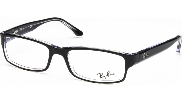 RX5114 2034 5216 Top Black on Transparent von Ray-Ban