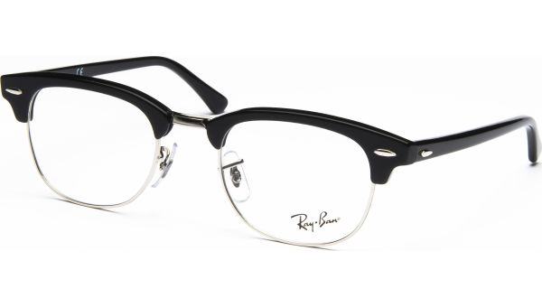 Clubmaster RX5154 2000 4921 Shiny Black von Ray-Ban
