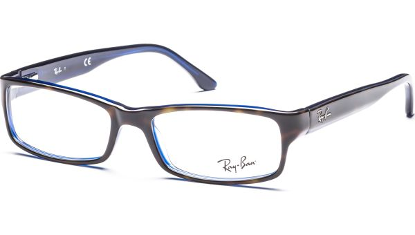 RX5114 5064 5216 Top Havana on Blue von Ray-Ban