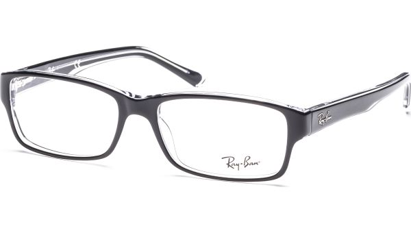 RX5169 2034 5416 Top Black on Transparent von Ray-Ban