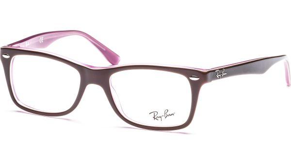 RX5228 2126 5017 Brown/Pink von Ray-Ban