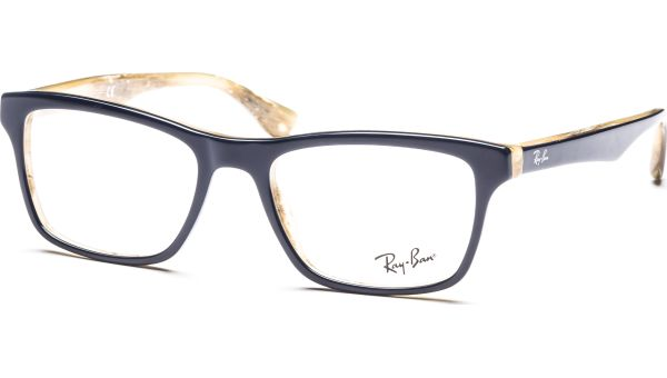 RX5279 5131 5318 Top Blue on Variegated von Ray-Ban