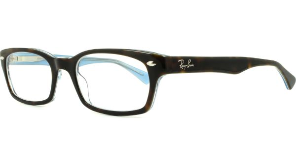RX5150 5023 5019 Top Havana on Transparent Azur von Ray-Ban