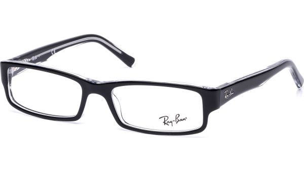 RX5246 2034 5216 Top Black on Transparent von Ray-Ban