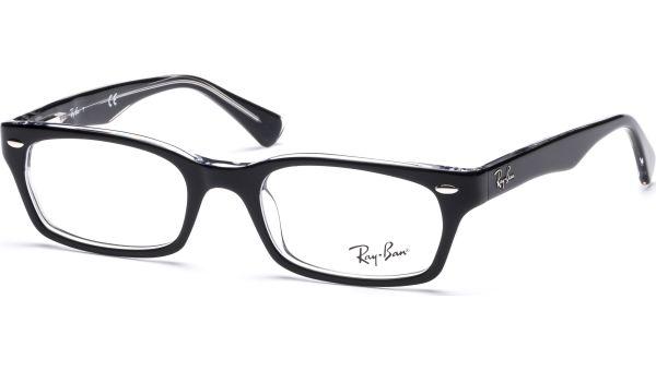 RX5150 2034 4819 Top Black on Transparent von Ray-Ban