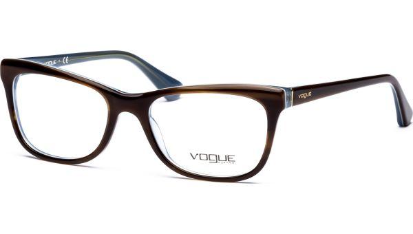 VO2763 2014 5117 Top Striped Brown/Azur von Vogue