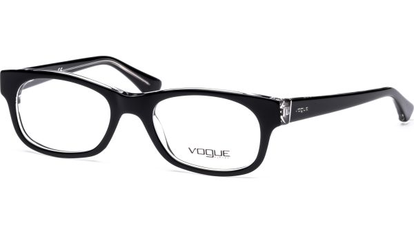 VO2837 W827 5019 Top Black/Transparent von Vogue