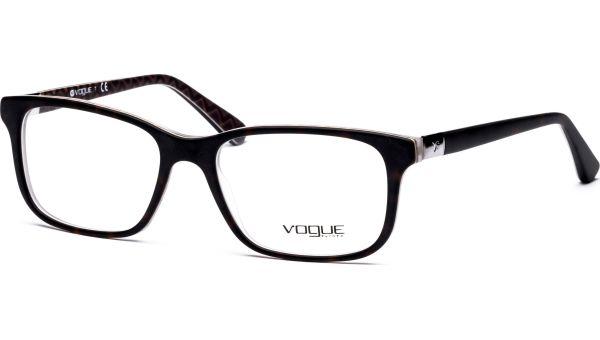 VO2746 2141S 5417 Top Dark Havana/Orange von Vogue
