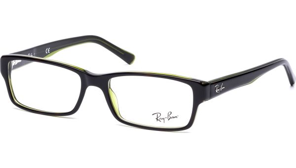 RX5169 2383 5216 Top Havana on Green Trp von Ray-Ban
