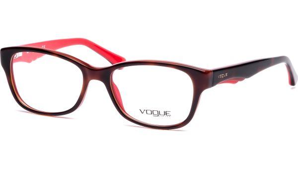 VO2814 2105 5116 Top Dark Havana/Red von Vogue