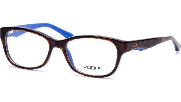 VO2814 2106 5116 Top Dark Havana/Blue von Vogue