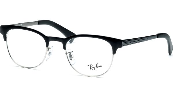 RX6317 2832 4920 Top Black on Matt Silver von Ray-Ban