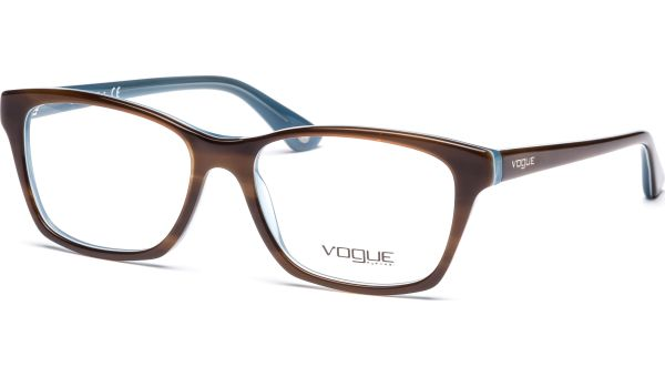 VO2714 2014 5416 Top Striped Brown/Azur von Vogue
