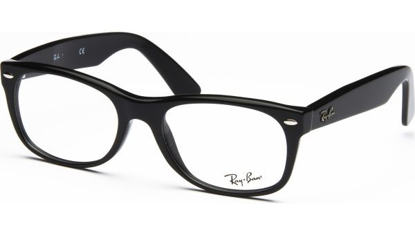 New Wayfarer RX5184 2000 5418 Shiny Black von Ray-Ban