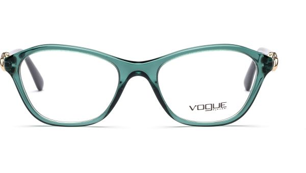 VO2910B 2266 5118 Pine Green Transparent von Vogue