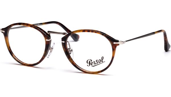 PO3046V 108 4921 Light Havana von Persol