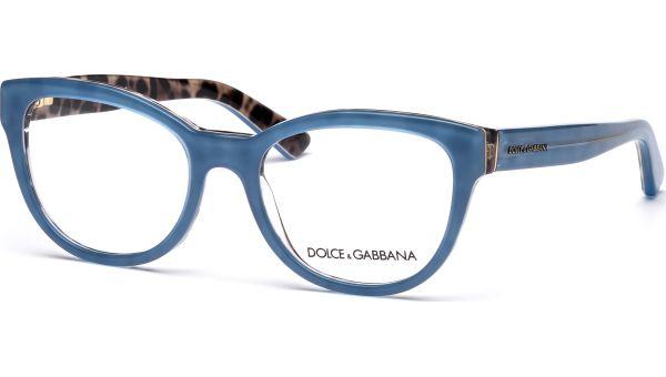 DG3209 2883 5118 Top Opal Azure/Leo von DOLCE&GABBANA
