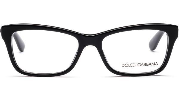 Contemporary DG3215 501 5216 Black von DOLCE&GABBANA