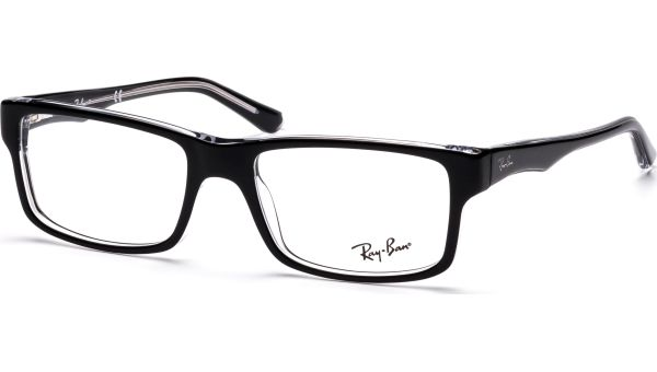 RX5245 2034 5217 Top Black on Transparent von Ray-Ban