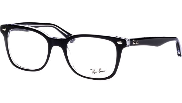 RX5285 2034 5319 Top Black on Transparent von Ray-Ban