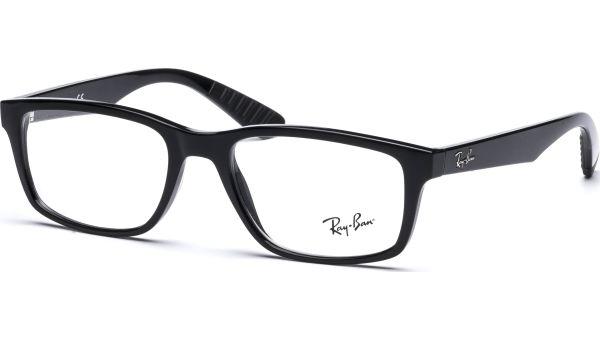 RX7063 2000 5218 Black von Ray-Ban