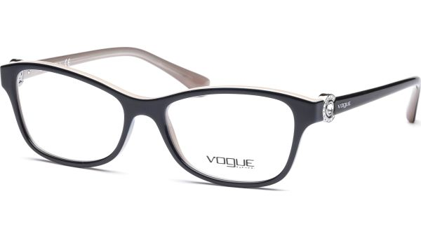 VO5002B 2350 5216 Dark Blue/Beige von Vogue