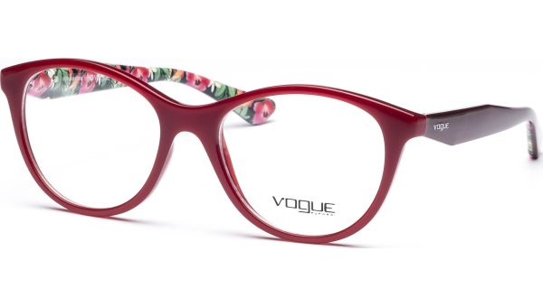 VO2988 2340 5117 Red Flowers von Vogue