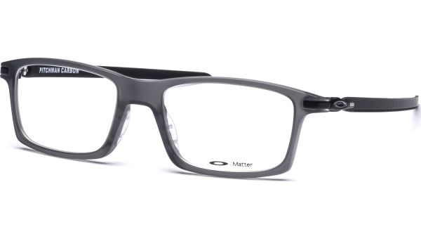 Pitchman Carbon OX8092 809202 5318 Satin Grey Smoke von Oakley