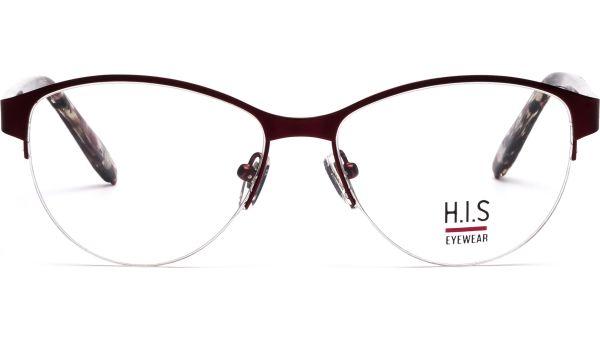 H.I.S HT4009-003 5417  rot,braun-rot-transparent von HIS