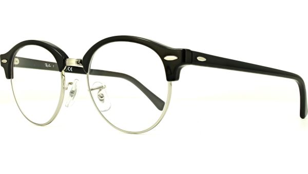 Clubround RX4246V 2000 4919 Black/Silver von Ray-Ban