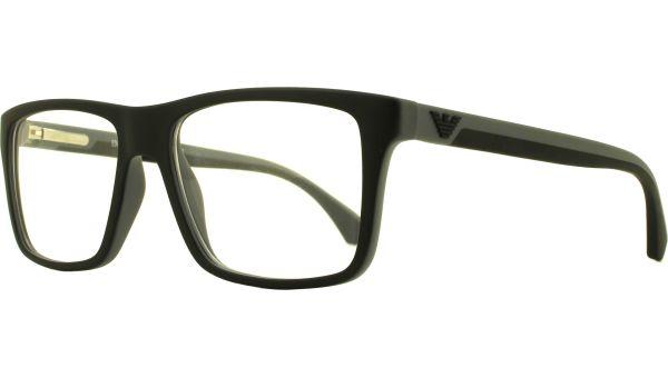 EA3034 5229 5516 Black / Rubber Grey von Emporio Armani