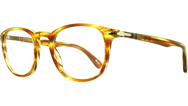 PO3143V 1050 4921 Striped Brown Yellow von Persol