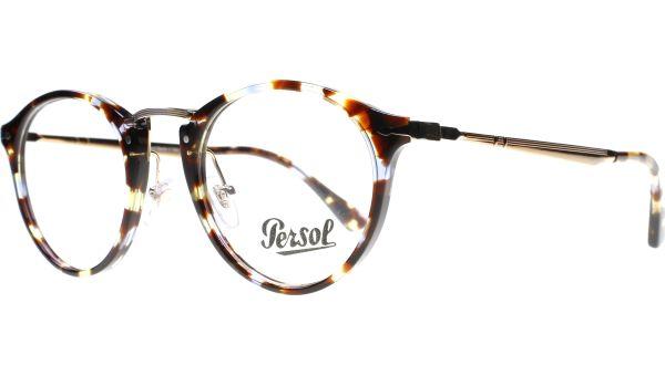 PO3167V 1058 4922 Havana / Azure Brown von Persol