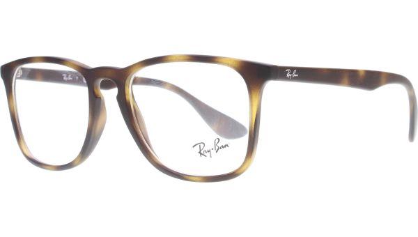 RB7074 5365 5018 Rubber Havana von Ray-Ban