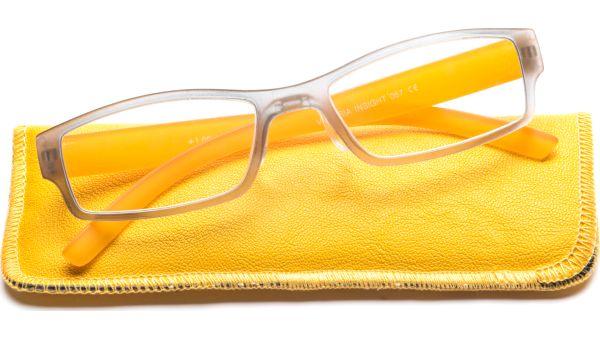 Flat 5319 grau/gelb transparent von Victoria Eyes