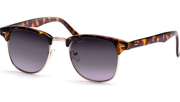 Kennedy 4917 demi-braun/gold, getönte Gläser CAT 2 von Victoria Eyes