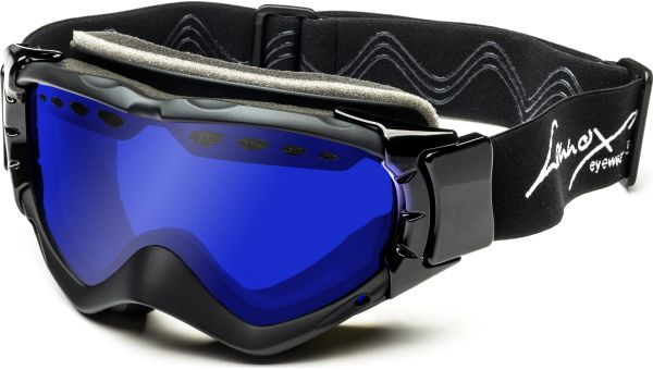 Skibrille 169 schwarz von Lennox Eyewear Sports